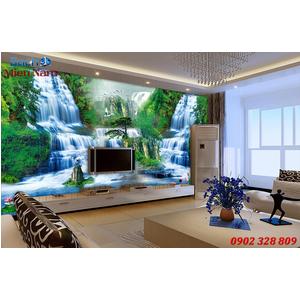 Tranh gạch 3d phòng khách STM227