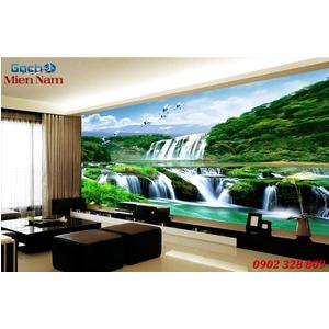 Tranh gạch 3d phòng khách STM243