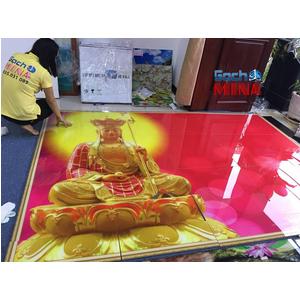 Tranh gạch 3D Tượng Phật