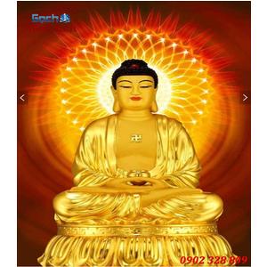 Tranh gạch men Hình Phật HPM22
