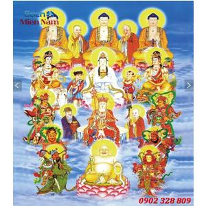 Tranh gạch men Hình Phật HPM30