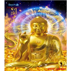 Tranh gạch men Hình Phật HPM32