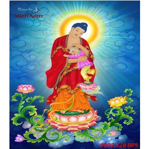 Tranh gạch men Hình Phật HPM39