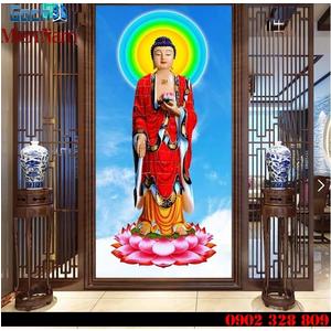Tranh gạch men Hình Phật HPM40