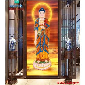 Tranh gạch men Hình Phật HPM45