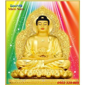 Tranh gạch men Hình Phật HPM47