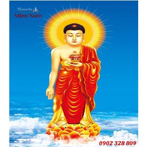 Tranh gạch men Hình Phật HPM48