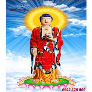 Tranh gạch men Hình Phật HPM49
