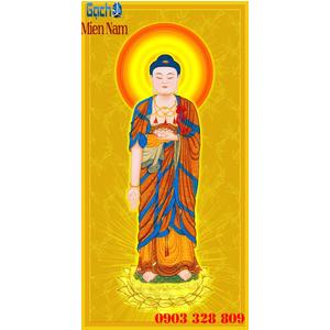 Tranh gạch men Hình Phật HPM50