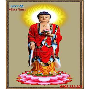Tranh gạch men Hình Phật HPM54