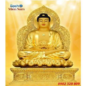 Tranh gạch men Hình Phật HPM56