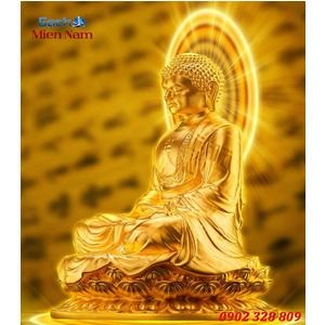 Tranh gạch men Hình Phật HPM61