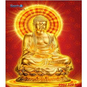 Tranh gạch men Hình Phật HPM63