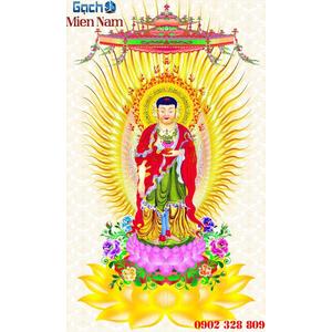 Tranh gạch men Hình Phật HPM64