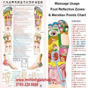 Tranh huyệt đạo chân