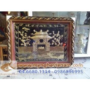 Tranh Khuê Văn Các, Tranh chùa 1 cột, quà tặng văn hóa Hà nội