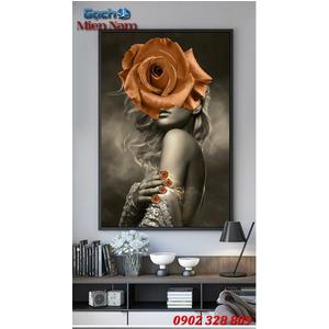 Tranh ốp tường 3d nghệ thuật TNT35