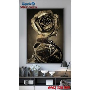 Tranh ốp tường 3d nghệ thuật TNT38