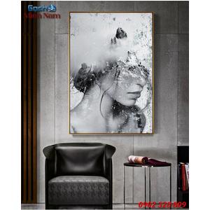 Tranh ốp tường 3d nghệ thuật TNT42