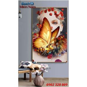 Tranh ốp tường 3d nghệ thuật TNT44