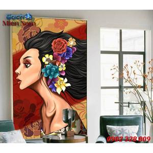 Tranh ốp tường 3d nghệ thuật TNT50