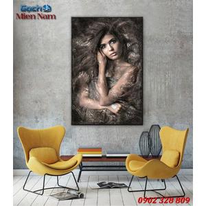 Tranh ốp tường 3d nghệ thuật TNT51