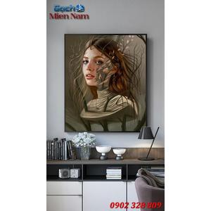Tranh ốp tường 3d nghệ thuật TNT54