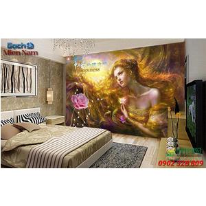 Tranh ốp tường 3d nghệ thuật TNT60