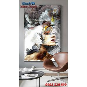Tranh ốp tường 3d nghệ thuật TNT65
