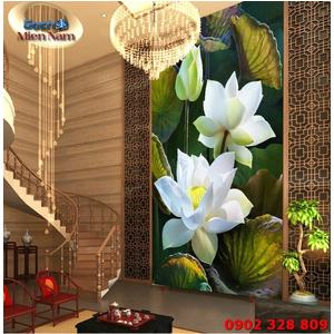 Tranh ốp tường chiếu nghỉ cầu thang CNT90