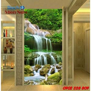 Tranh ốp tường chiếu nghỉ cầu thang CNT93