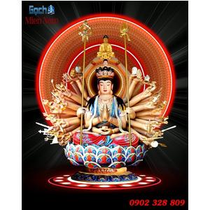 Tranh Phật Chuẩn Đề HPM209