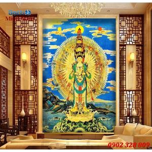 Tranh Phật Chuẩn Đề HPM354