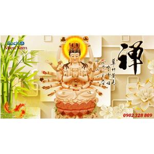 Tranh Phật Chuẩn Đề HPM378