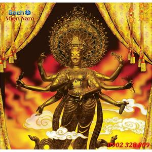 Tranh Phật Chuẩn Đề HPM411