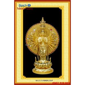 Tranh Phật Chuẩn Đề HPM442