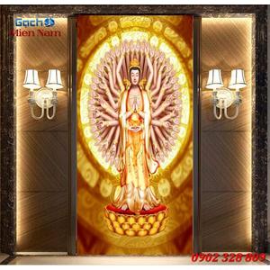 Tranh Phật Chuẩn Đề HPM458