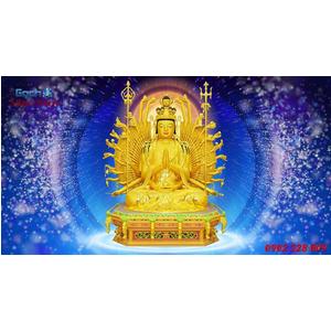 Tranh Phật Chuẩn Đề HPM473