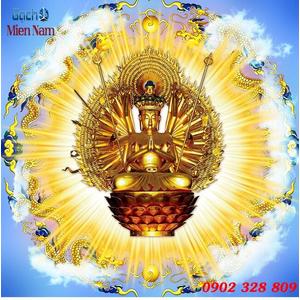 Tranh Phật Chuẩn Đề HPM490