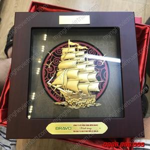 Tranh quà tặng thuận buồm xuôi gió 20x20cm