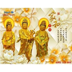 Tranh Tam Thế Phật HP07