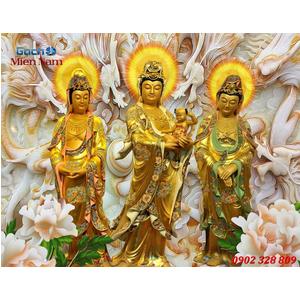 Tranh Tam Thế Phật HP08