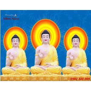 Tranh Tam Thế Phật HP11