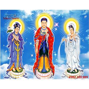 Tranh Tam Thế Phật HP14