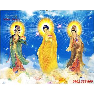 Tranh Tam Thế Phật HP16