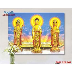 Tranh Tam Thế Phật HP18