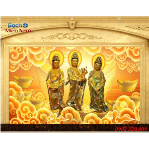 Tranh Tam Thế Phật HP22