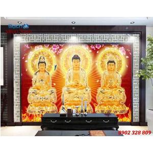 Tranh Tam Thế Phật HP23