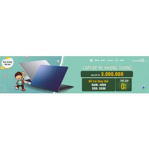TRỢ GIÁ NÂNG CẤP RAM HOẶC SSD KHI MUA LAPTOP