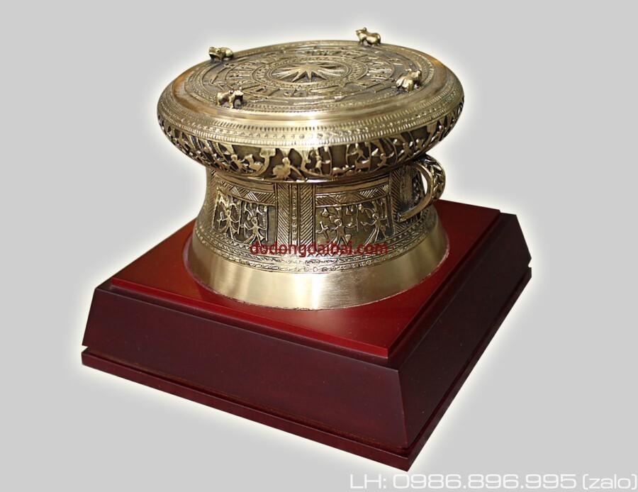 Trống đồng quà tặng12cm,trống đồng Đền Hùng Phú Thọ